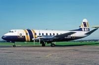 Photo: British Air Ferries - BAF, Vickers Viscount 800, G-AOYH