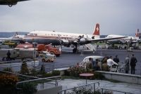 Photo: Swiss Air Lines, Douglas DC-6, HB-IDF