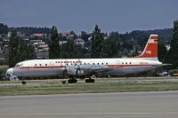 Photo: Interflug, Ilyushin IL-18, DDR-STH