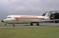 Photo: Dominicana, BAC One-Eleven 400, G-AVGP