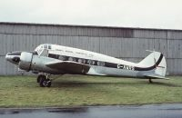 Photo: Kemp's Aerial Surveys, Avro Anson 652, G-AWRS
