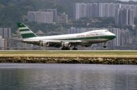 Photo: Cathay Pacific Airways, Boeing 747-200, VR-HIE