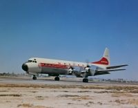 Photo: Western Airlines, Lockheed L-188 Electra, N7135C