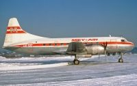 Photo: Mey-Air, Convair CV-340, LN-KAP