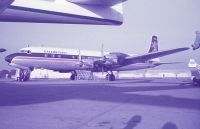 Photo: Caledonian Airways, Douglas DC-7, G-ASIV