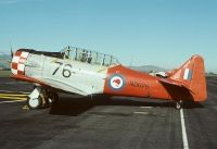 Photo: Royal New Zealand Air Force RNZAF, North American T-6 Texan, NZ1076