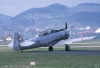 Photo: Swiss Air Force, North American T-6 Texan, U-323