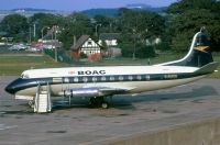 Photo: BOAC - British Overseas Airways Corporation, Vickers Viscount 700, G-AMON