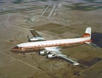 Photo: Western Airlines, Douglas DC-6, N93117
