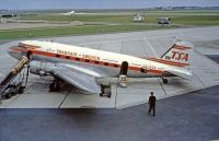 Photo: Transair Sweden, Douglas DC-3, SE-BSN