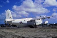 Photo: Royal New Zealand Air Force RNZAF, Shorts Brothers Sunderland Flyingboat, NZ4115