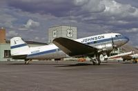 Photo: Johnson Air, Douglas DC-3, N24320
