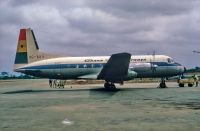 Photo: Ghana International, Hawker Siddeley HS-748, 9G-ABX