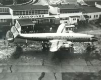 Photo: Trans Canada Airlines - TCA, Lockheed Super Constellation, CF-TSB