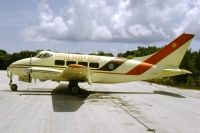 Photo: Coral Sands Hotel, De Havilland DH-104 Dove, N711BK