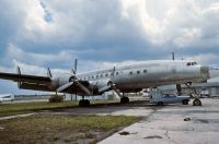 Photo: Aero Sacasa, Lockheed Constellation, N6207C