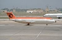 Photo: Cambrian Airways, BAC One-Eleven 200, G-AVOE