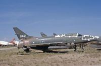 Photo: United States Air Force, North American F-100 Super Sabre, 54-2062