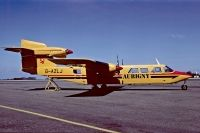 Photo: Aurigny Air Services, Britten-Norman BN-2B Islander, G-AZLJ