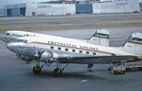 Photo: Continental Airlines, Douglas DC-3, N16061