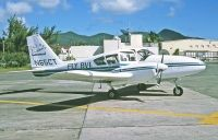 Photo: FLY BVI, Piper PA-23-250 Aztec, N65CT