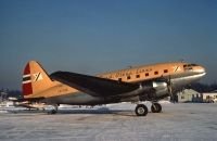 Photo: Fred Olsen Airtransport, Curtiss C-46 Commando, LN-FOR