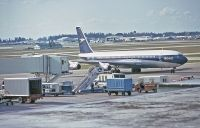 Photo: BOAC - British Overseas Airways Corporation, Boeing 707-300, G-AWHU