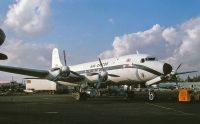Photo: Air Caicos, Canadair DC-4M2 Northstar, CF-UXB