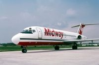 Photo: Midway Airlines, Douglas DC-9-10, N1070T