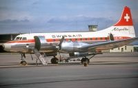 Photo: Swissair, Convair CV-440, HB-IMB