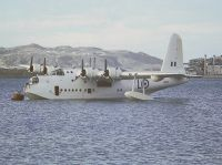 Photo: Royal New Zealand Air Force RNZAF, Shorts Brothers Sunderland Flyingboat, NZ4112
