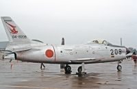 Photo: Japanese Air Self Defence Force, North American F-86 Sabre, 04-8209