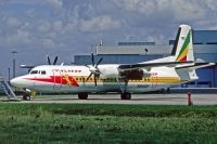Photo: Ethiopian Airlines, Fokker F50, PH-LOP