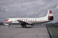 Photo: Cambrian Airways, Vickers Viscount 700, G-ALWF