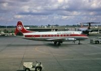Photo: Air Canada, Vickers Viscount 700, CF-THL