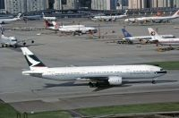 Photo: Cathay Pacific Airways, Boeing 777-200, B-HNA