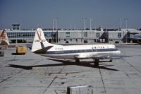 Photo: United Airlines, Vickers Viscount 700, N7449
