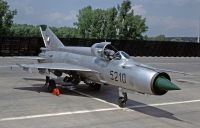 Photo: Czechoslovakia Air Force, MiG MiG-21, 5210