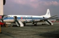 Photo: Cyprus Airways, Vickers Viscount 800, G-AOYJ