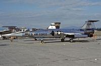 Photo: United States Air Force, Lockheed F-104 Starfighter, 13243