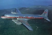 Photo: Canadian Pacific Airlines CPA, Canadair DC-4M2 Northstar, CF-CPR