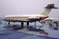 Photo: Swissair, BAC One-Eleven 400, G-ATVH