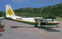 Photo: Nevis Express , Britten-Norman BN-2B Islander, N103NE
