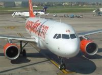 Photo: EasyJet Airline, Airbus A319, G-EZEB