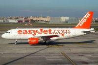 Photo: EasyJet Airline, Airbus A319, HB-JZO