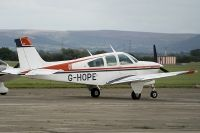 Photo: Privately owned, Beech Bonanza, G-HOPE