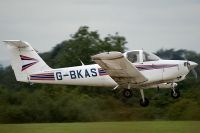 Photo: Privately owned, Piper PA-38, G-BKAS