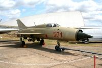 Photo: Privately owned, MiG MiG-21, 501