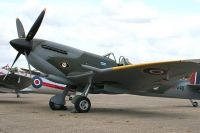 Photo: Royal Air Force, Supermarine Spitfire, TD248