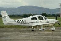 Photo: Privately owned, Cirrus SR22, N123DV